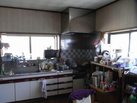 キッチンリフォームビフォー1
