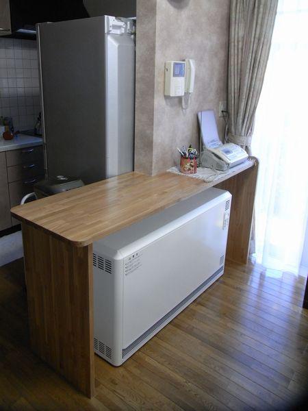 蓄熱暖房器設置