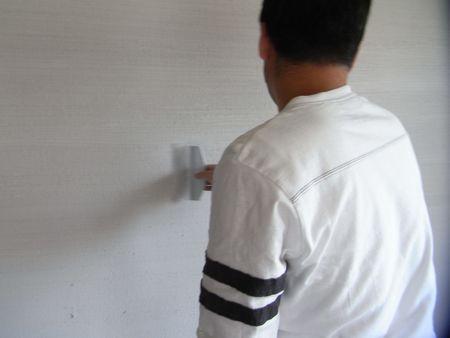 薩摩中霧島壁塗り