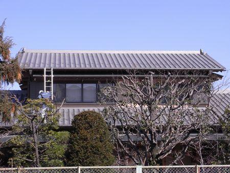 太陽光設置前屋根