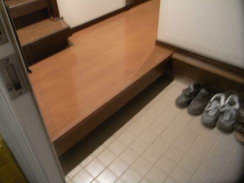 韮崎K様邸廊下床工事アフター