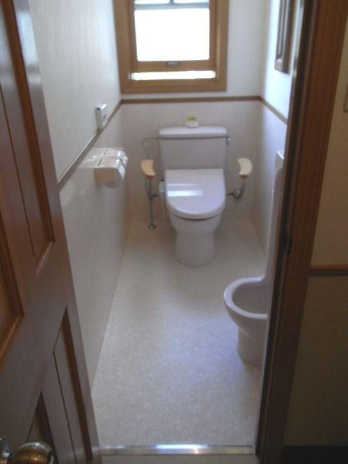 韮崎H様邸トイレアフター